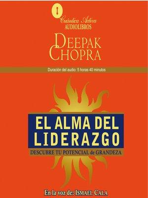 cover image of El alma del liderazgo
