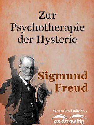 cover image of Zur Psychotherapie der Hysterie