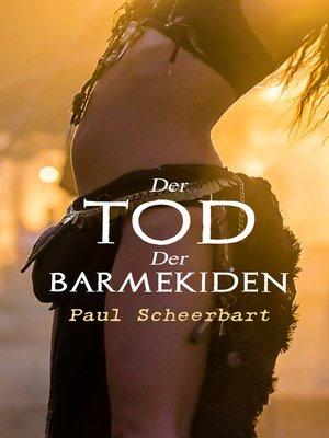 cover image of Der Tod der Barmekiden