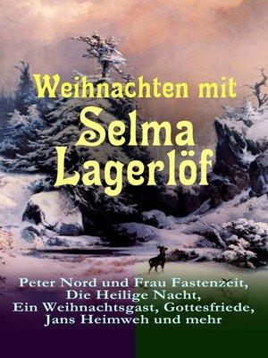 cover image of Weihnachten mit Selma Lagerlöf