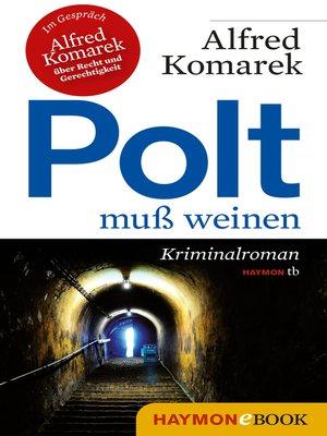 cover image of Polt muß weinen