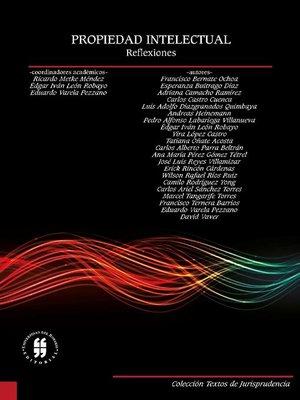 cover image of Propiedad intelectual