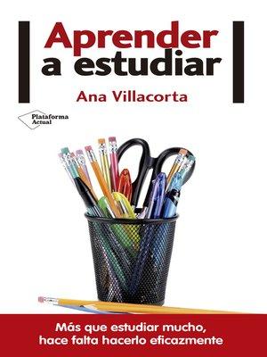 cover image of Aprender a estudiar