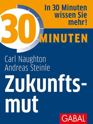 cover image of 30 Minuten Zukunftsmut
