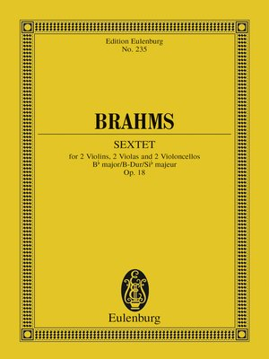 cover image of Sextet Bb major