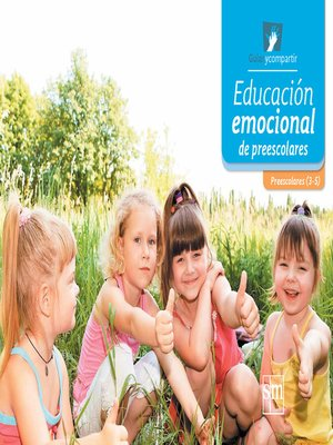cover image of Educación emocional de preescolares