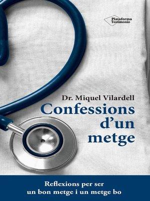 cover image of Confessions d'un metge