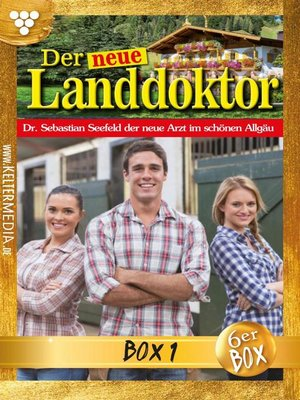 cover image of Der neue Landdoktor Jubiläumsbox 1 – Arztroman