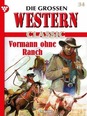 cover image of Die großen Western Classic 34 – Western