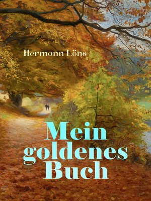 cover image of Mein goldenes Buch