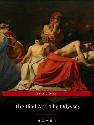 cover image of The Iliad / the Odyssey