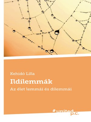 cover image of Ildilemmák