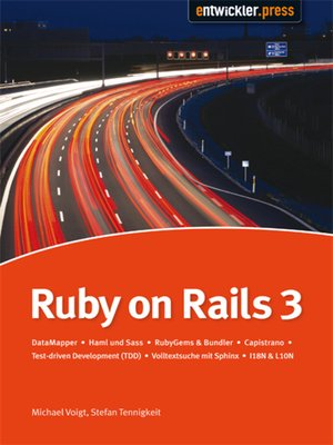 cover image of Ruby on Rails3