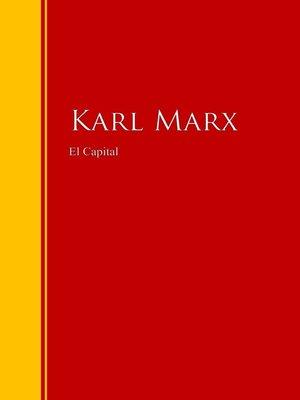 cover image of El Capital