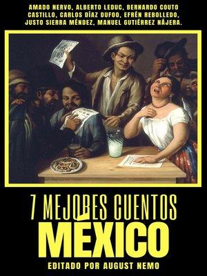 cover image of 7 mejores cuentos--México
