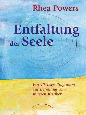 cover image of Entfaltung der Seele