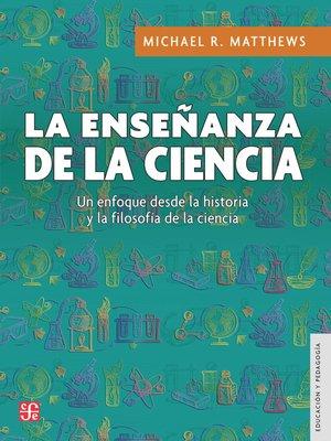 cover image of La enseñanza de la ciencia