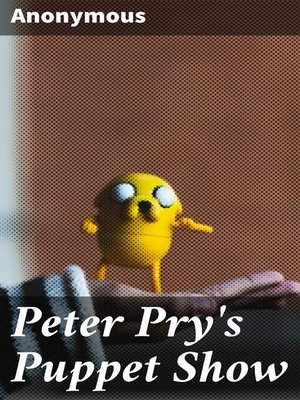 cover image of Peter Pry's Puppet Show