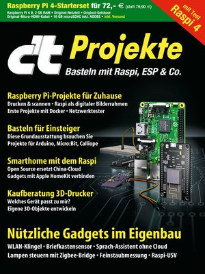 cover image of c't Projekte (2019)
