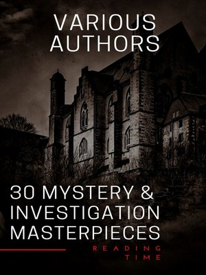 cover image of 30 Mystery & Investigation masterpieces