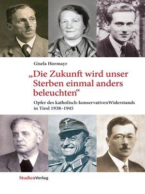 "cover image of ""Die Zukunft wird unser Sterben einmal anders beleuchten"""