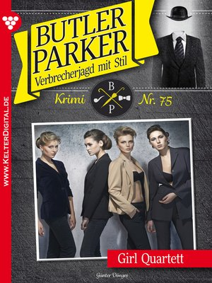 cover image of Butler Parker 75 – Kriminalroman