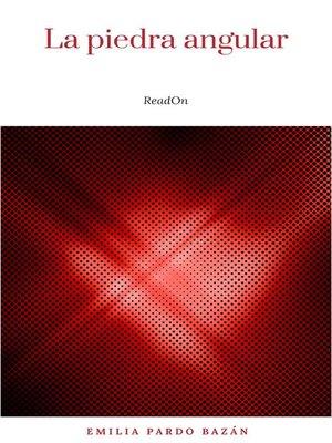 cover image of La piedra angular