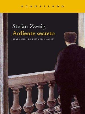 cover image of Ardiente secreto
