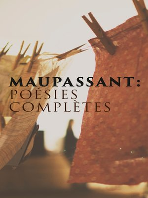 cover image of Maupassant