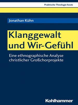 cover image of Klanggewalt und Wir-Gefühl