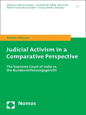 cover image of Judicial Activism in a Comparative Perspective