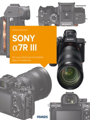 cover image of Kamerabuch Sony a7R III
