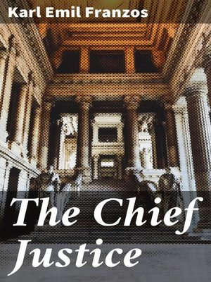 cover image of The Chief Justice