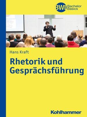 cover image of Rhetorik und Gesprächsführung