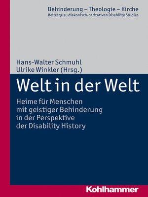 cover image of Welt in der Welt