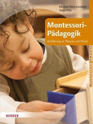 cover image of Montessori-Pädagogik