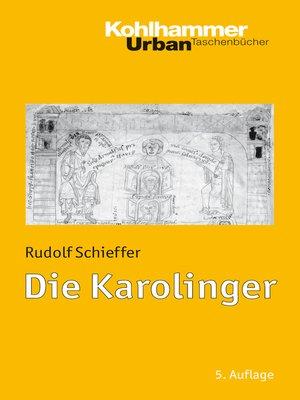 cover image of Die Karolinger