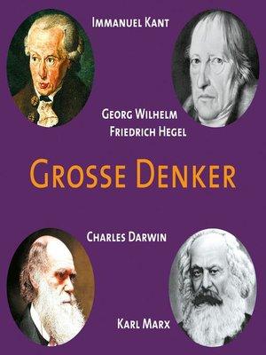cover image of CD WISSEN--Große Denker--Teil 04