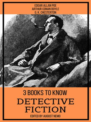 cover image of 3 books to know Detective Fiction