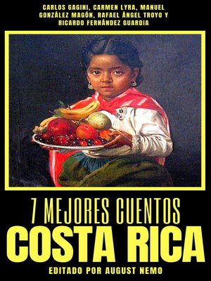 cover image of 7 mejores cuentos--Costa Rica