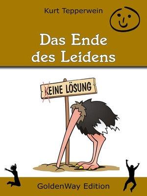 cover image of Das Ende des Leidens