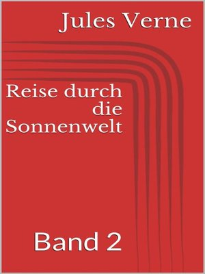 cover image of Reise durch die Sonnenwelt, Band 2
