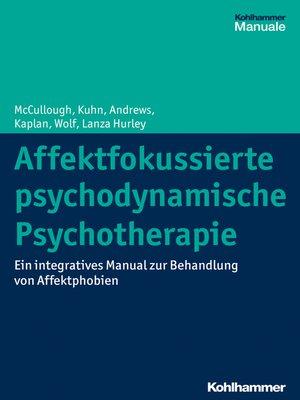 cover image of Affektfokussierte psychodynamische Psychotherapie