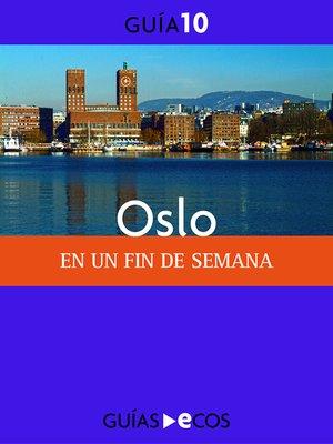 cover image of Oslo. En un fin de semana