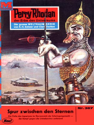 cover image of Perry Rhodan 387
