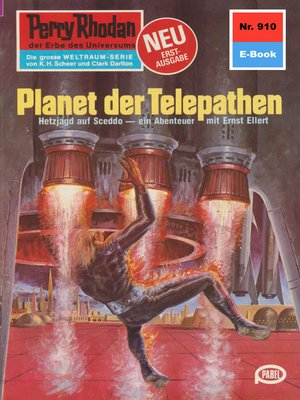 cover image of Perry Rhodan 910