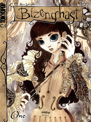 cover image of Bizenghast manga volume 1