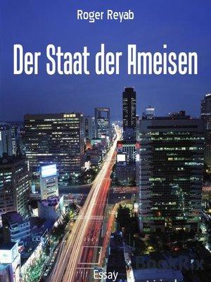 cover image of Der Staat der Ameisen