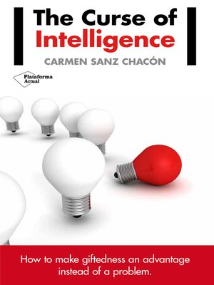 cover image of The curse of intelligence
