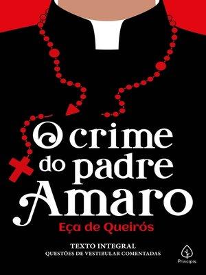 cover image of O crime do padre Amaro
